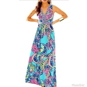 NWT Lilly Pulitzer Private Island Addison Maxi